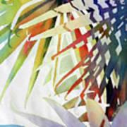 Palm Patterns 2 Art Print