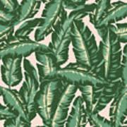 Palm Print Art Print by Lauren Amelia Hughes
