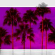 Palm Tree Heaven Art Print