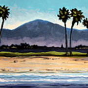 Palm Tree Oasis Art Print