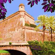 Palma De Majorca Old City Walls Art Print