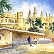 Palma De Mallorca Cathedral Art Print