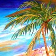 Palma Tropical II Art Print