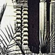 Palms And Columns Art Print