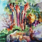 Palms...no Springs Art Print