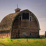 Palouse Barn Art Print