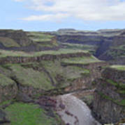 Palouse River Canyon Art Print