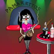 Pam-pam La Rue Art Print