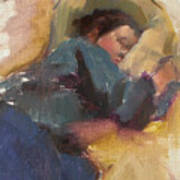 Pam Resting Art Print
