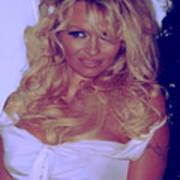 Pamela Anderson Art Print