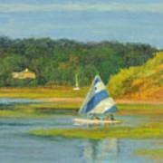 Pamet Harbor Early Evening Art Print