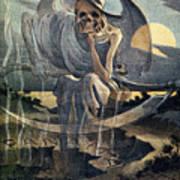 Panama Canal Cartoon, 1904 Art Print