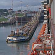 Panama Canal Art Print