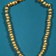 Panama: Gold Beads, C1000 Art Print