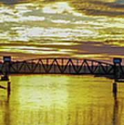 Panaroma Katy Bridge Art Print