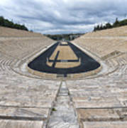 Panathenaic Stadium In Athens, Greece Art Print