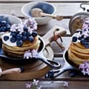 Pancake Art Print