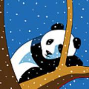 Panda at Peace Art Print