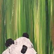 Pandas Fading  Art Print