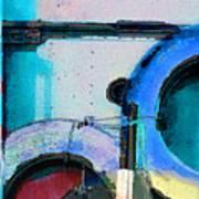 panel three from Centrifuge Art Print