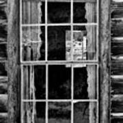 Panes To The Past Art Print