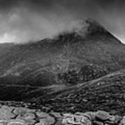 Panorama From Slievenaglogh Art Print