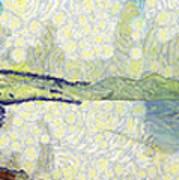 Panorama Of Landscape Art Print