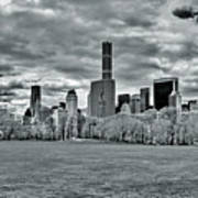 Panorama Of New York City Art Print