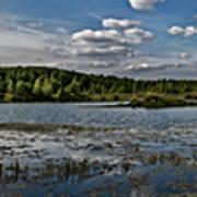 Panorama Of The Lake In Elkino Art Print