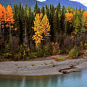 Panoramic Northern River Art Print