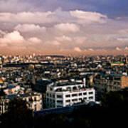 Panoramic Paris Sky.  Art Print