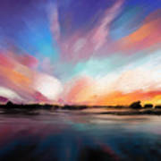 Panoramic Seascape Art Print