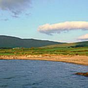 Panoramic View Of Country Cork, Ireland Art Print