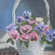 Pansies For A Friend Art Print