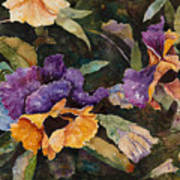 Pansy Tangle Art Print