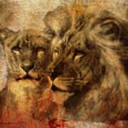 Panthera Leo 2016 Art Print