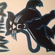 Panthers Nfl Logo Art Print