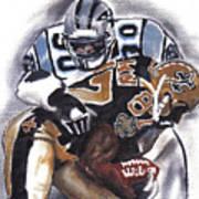 Panthers Vs Saints Art Print
