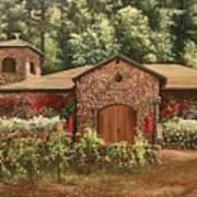 Paoletti  Estates Winery Art Print
