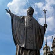 Papa Juan Pablo II - Mexico City II Art Print
