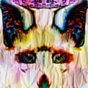 Paper Fox  Art Print