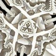 Paper Pattern Art Print