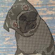 Paper Pug Art Print