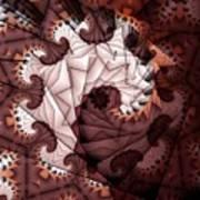 Paper Spiral Art Print