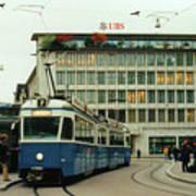 Paradeplatz Zurich Art Print