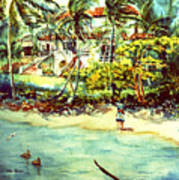 Paradise At Dorado Puerto Rico Art Print