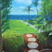 Paradise Beckons Art Print