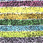 Parallel Dazzle Art Print