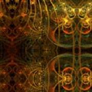 Parallel Visions Of Time   Art Print
