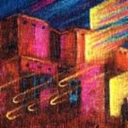 Paranormal Pueblos  Art Print